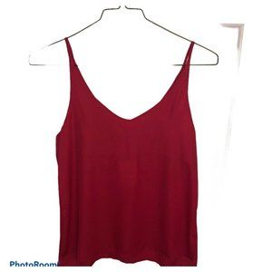 SHINESTAR | pink sleeveless camisole top Size Smal